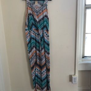 Faded Glory Pattern Maxi Dress